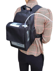Oxygo Next Backpack-Slim & Lightweight Design in Black - O2TOTES