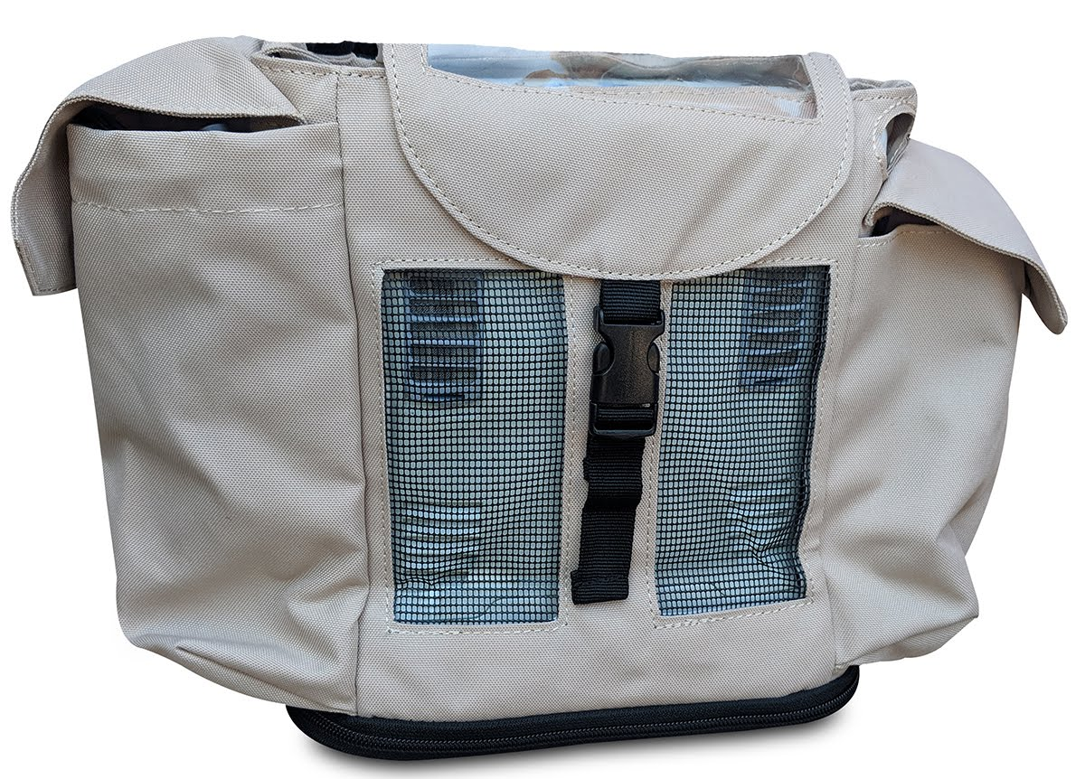 Inogen one G3 Backpack in Beige (also fits Oxygo unit) - O2TOTES