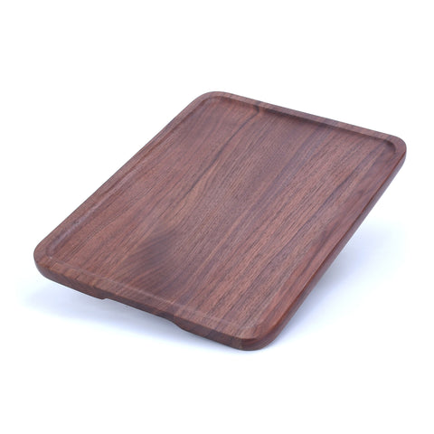 Wooden Serving Trays Natural Black Walnut , FSC, Handcrafted