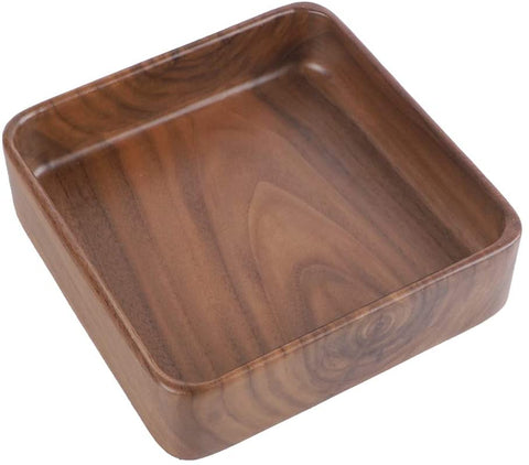 Walnut Plate,Solid Wood Plate,Square Tray