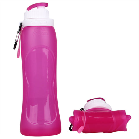 Sports Water Bottles Collapsible