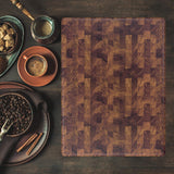 Walnut Wood Cutting Boards Reversible with Juice Groove (20x15 Inch End Grain - Brick Mason Pattern)