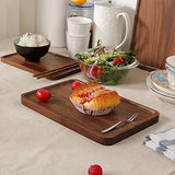 Wood Serving Tray (Black Walnut)