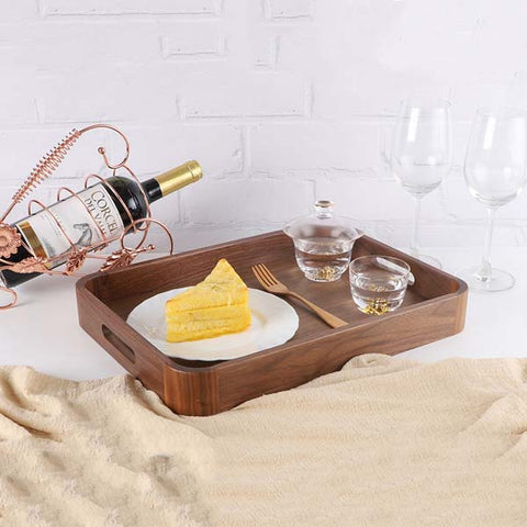 Serving Tray with Handles Table Centerpieces