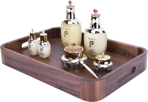 Serving trays with handles