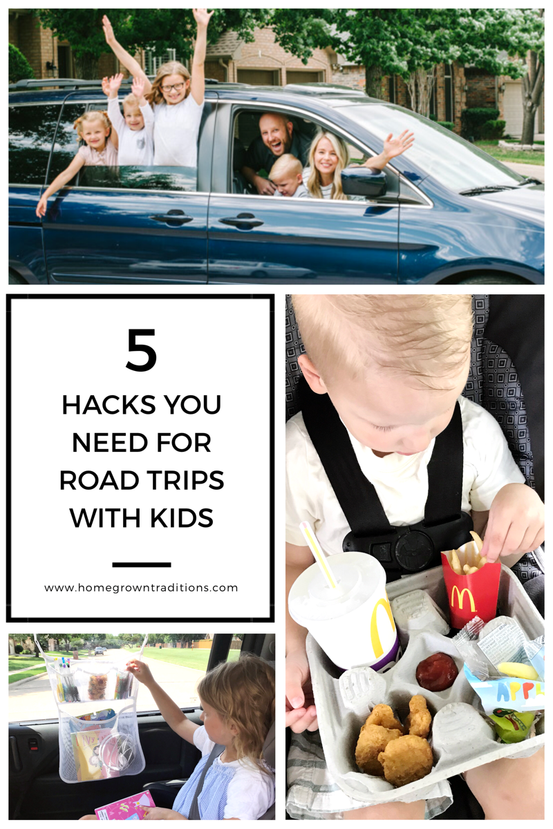 5 Hacks for Road Trips with Kids