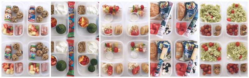 HOW TO PREPARE A WEEK OF SCHOOL LUNCHES IN ONE DAY