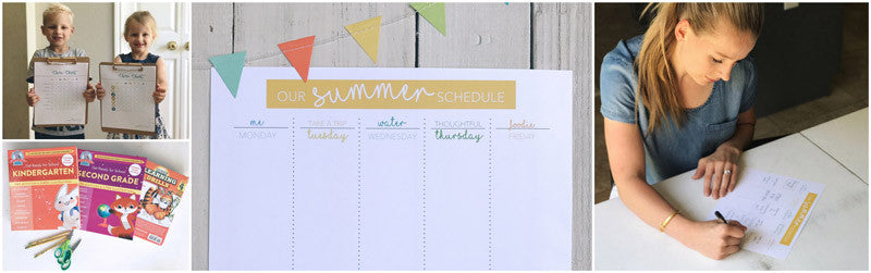 SUMMER SURVIVAL SCHEDULE