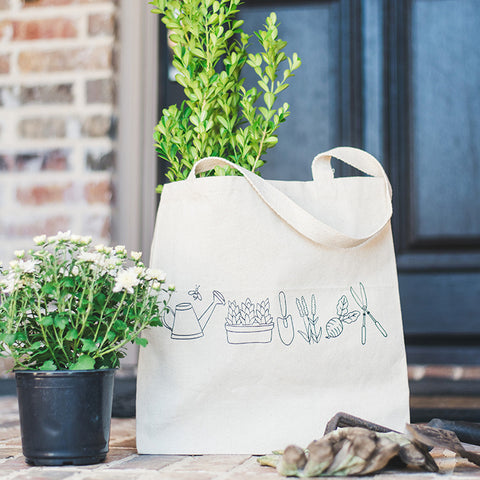 Canvas Tote Bag - Gardening