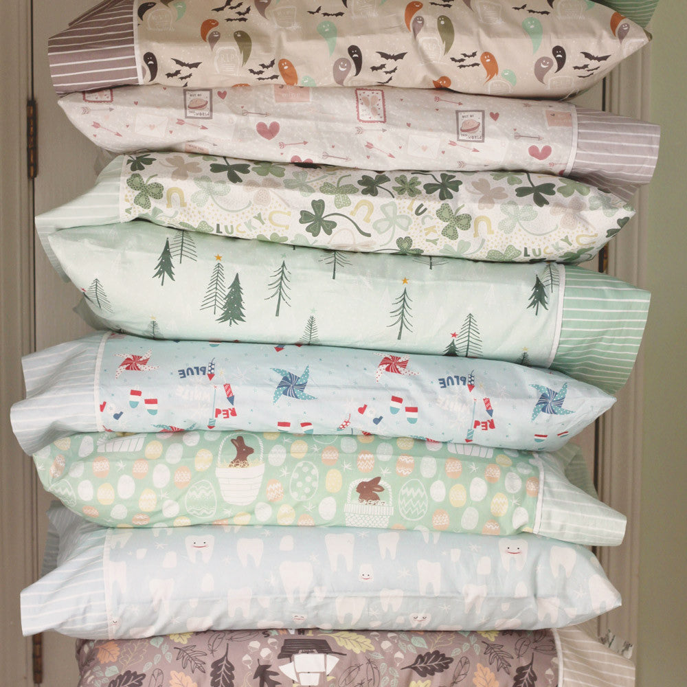 Holiday Pillowcase Collection (set of 9 for $16 each)