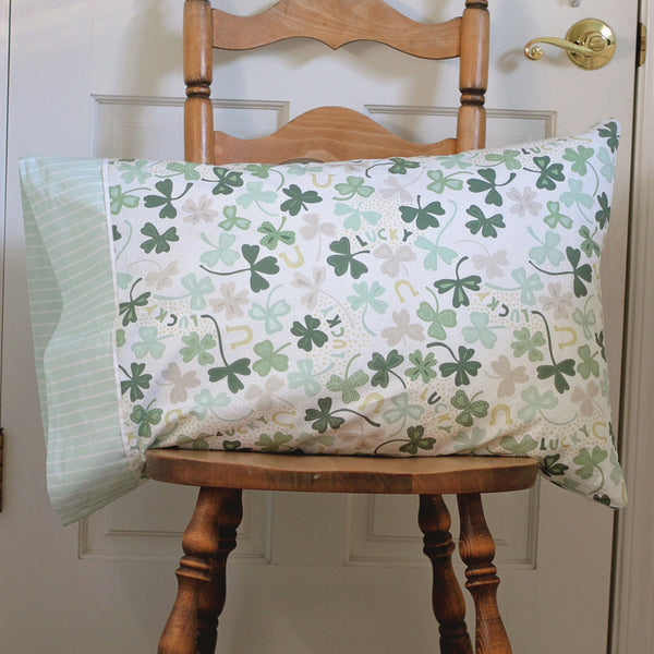 Kids St. Patrick's Day Holiday Pillowcase