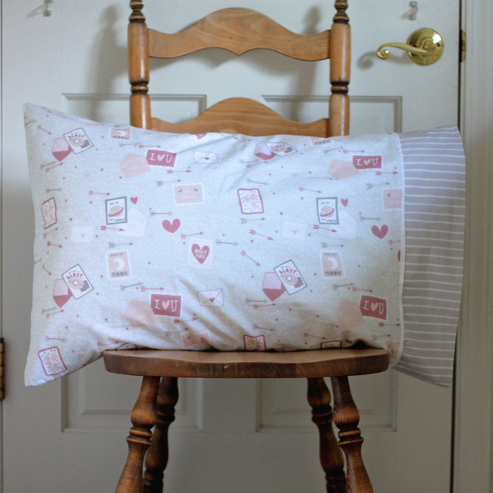 Kids Valentine's Holiday Pillowcase