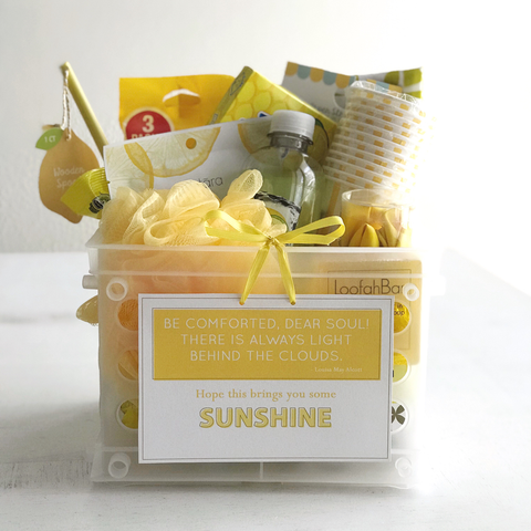 Sunshine Care Package Gift Tag