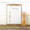 Toddler Custom Chore Chart Download with Pictures and Icons