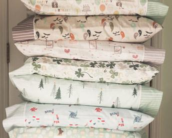 Kids Holiday Pillowcases