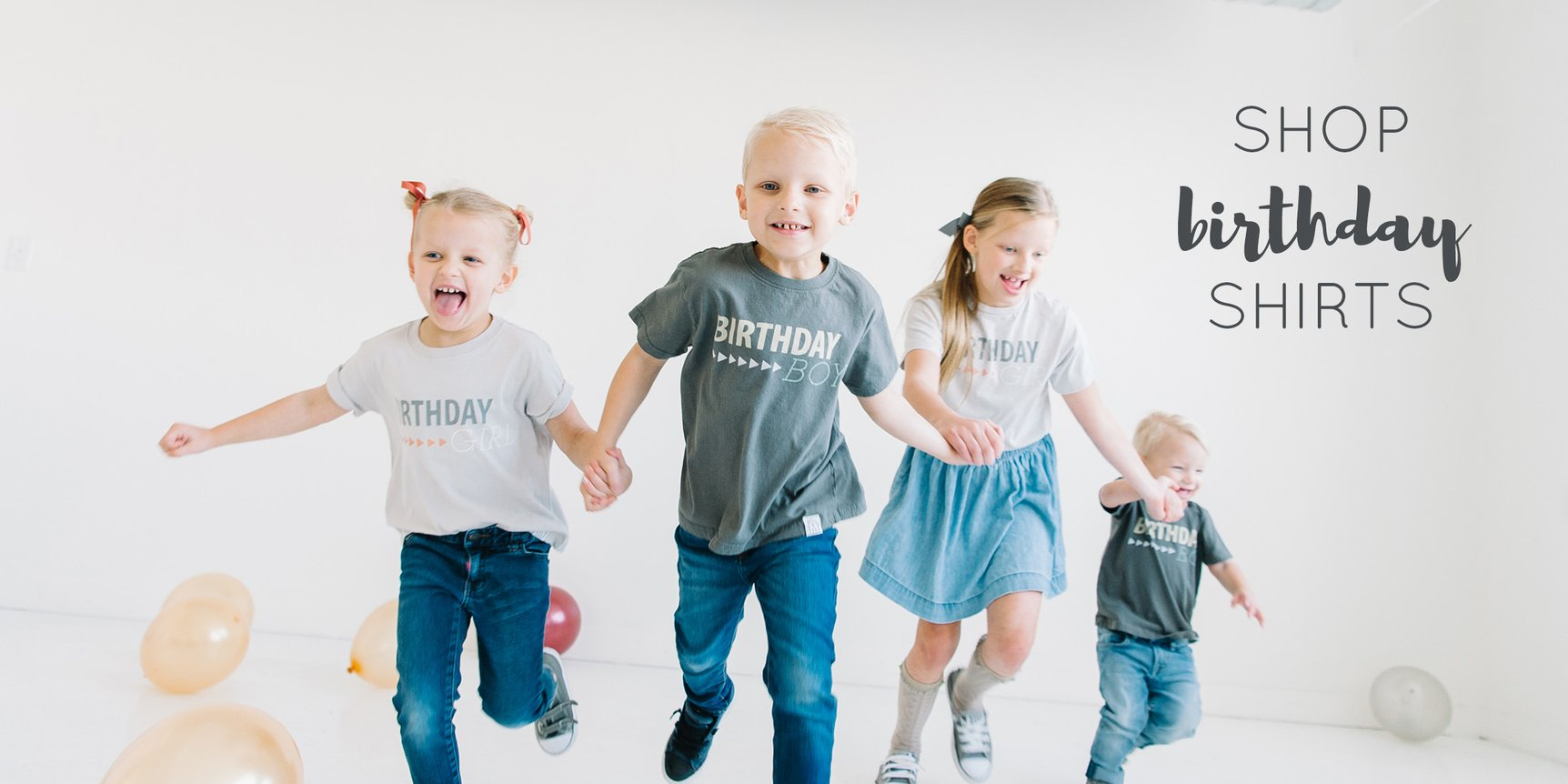 Kids Birthday Shirts