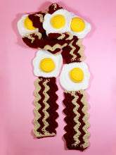 Load image into Gallery viewer, Bacon & Eggs Scarf