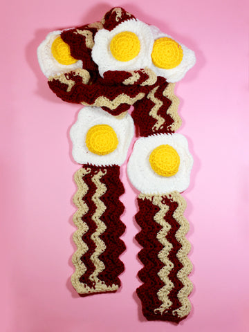 Bacon & Eggs Scarf