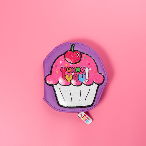 Cupcake Vinyl Coin Purse Wallet