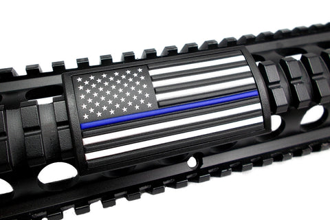 American Flag, Blue Line, (Stars Right or Left) - Large Grip PVC