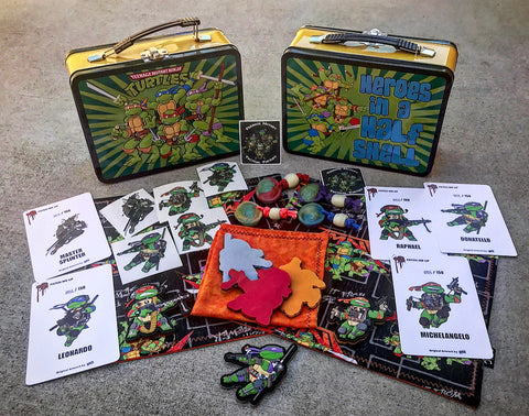 Exclusive TEENAGE MUTANT TACTICAL TURTLES Collector's Sets