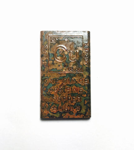 1oz Fine Copper Bar