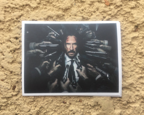 Exclusive John Wick 2 Sticker - Limited Run