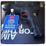 Exclusive KEEP CALM its only a FLESH WOUND - Patch Me Up FlagShip Patch