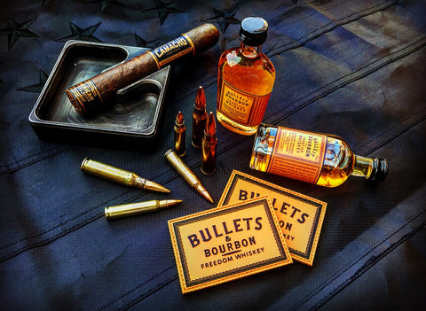 Bullets & Bourbon Freedom Whiskey Patch