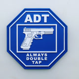 Exclusive ADT - Always Double Tap Original or Glow in the Dark Patch & Sticker Bundle