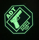 Exclusive ADT - Always Double Tap PVC Patch - Original or Glow in the Dark!
