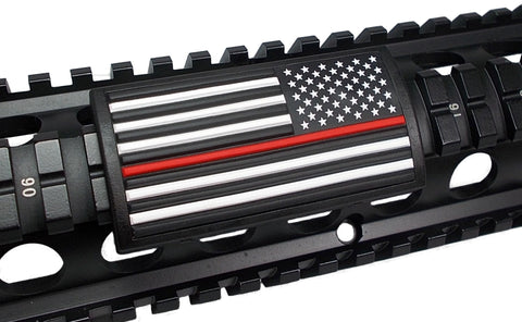American Flag, Red Line, (Stars Right or Left) - Large Grip PVC