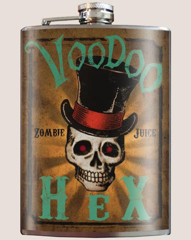 Voodoo Hex - Flask