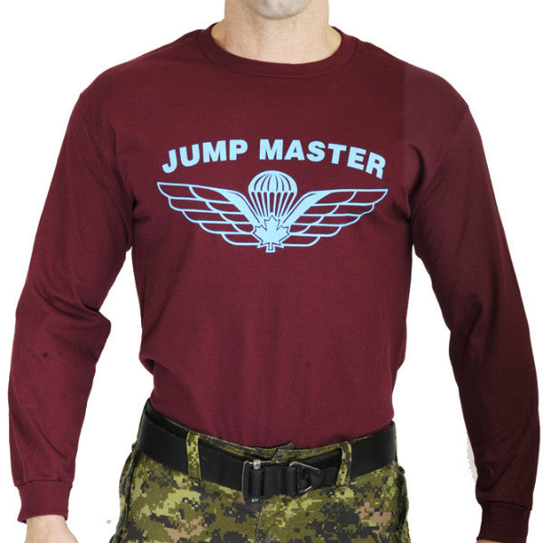 Parachute Jumpmaster Long Sleeve T-Shirt