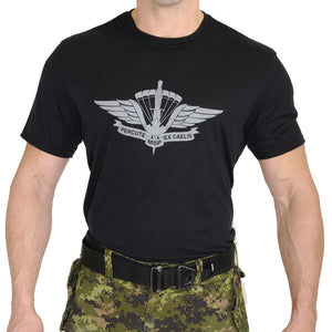 Military Square Parachute T-Shirt