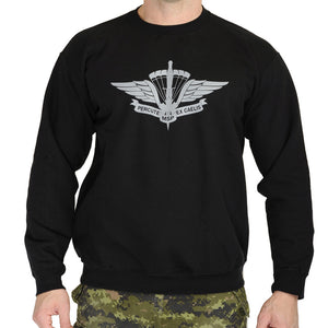 Military Square Parachute Sweat Shirt