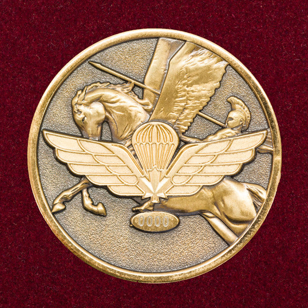 The Paratrooper S Coin The Kit Shop
