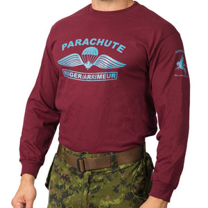 Parachute Rigger Long Sleeve T-Shirt