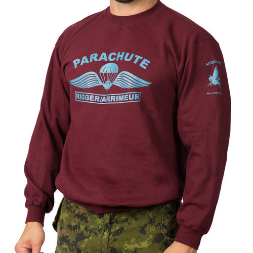 Parachute Rigger Sweat Shirt