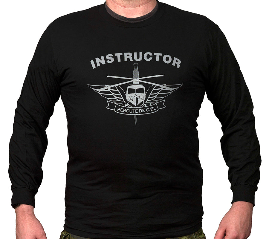 Helicopter Insertion Master Instructor Long Sleeve T-Shirt