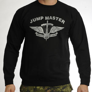 Military Square Parachute Jumpmaster Sweat Shirt