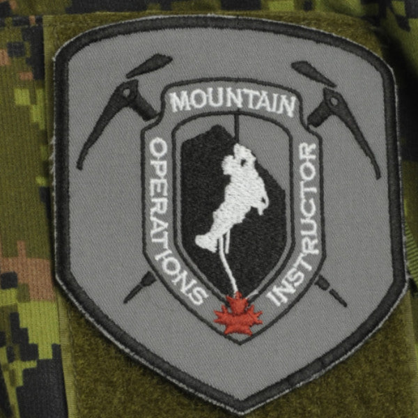 Mountain Operations Instructor Patch, 4