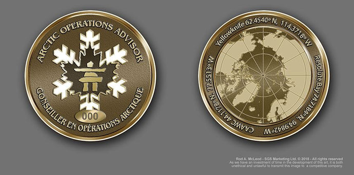 The Arctic Operations Advisor Coin