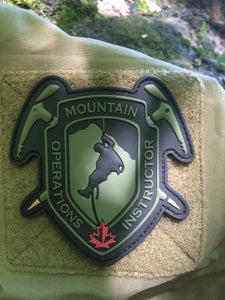 Mountain Operations Instructor PVC Patch