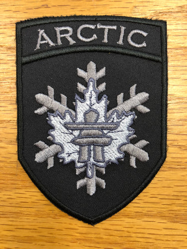 "Arctic Operations Patch 4""x2.75"""