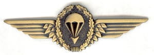 Metal German Parachutist's Badge