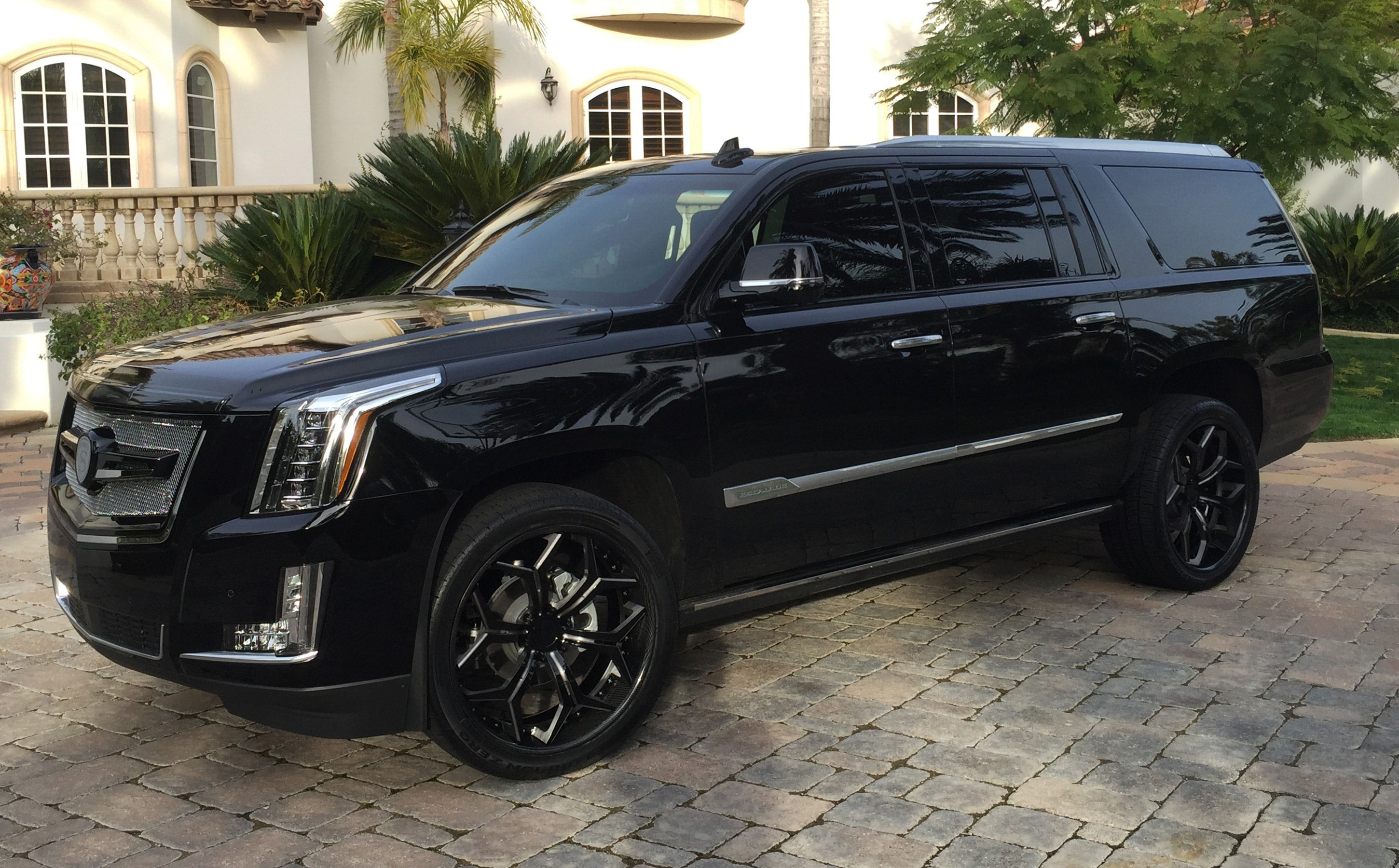 2016 Cadillac Escalade Interior >> Custom Black Raven Cadillac – Darkside Motoring