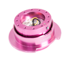 NRG Gen 2.5 Pink/Pink Ring Steering Wheel Quick Release