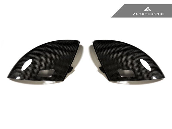 Autotecknic Replacement Carbon Fiber Mirror Covers BMW E60 M5 / E63 M6