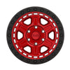 Black Rhino Reno 18x9.5 5x139.7 ET00 CB 78.1 Candy Red w/Black Lip Edge & Black Bolts Wheel